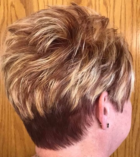 Spiked Short Haircut